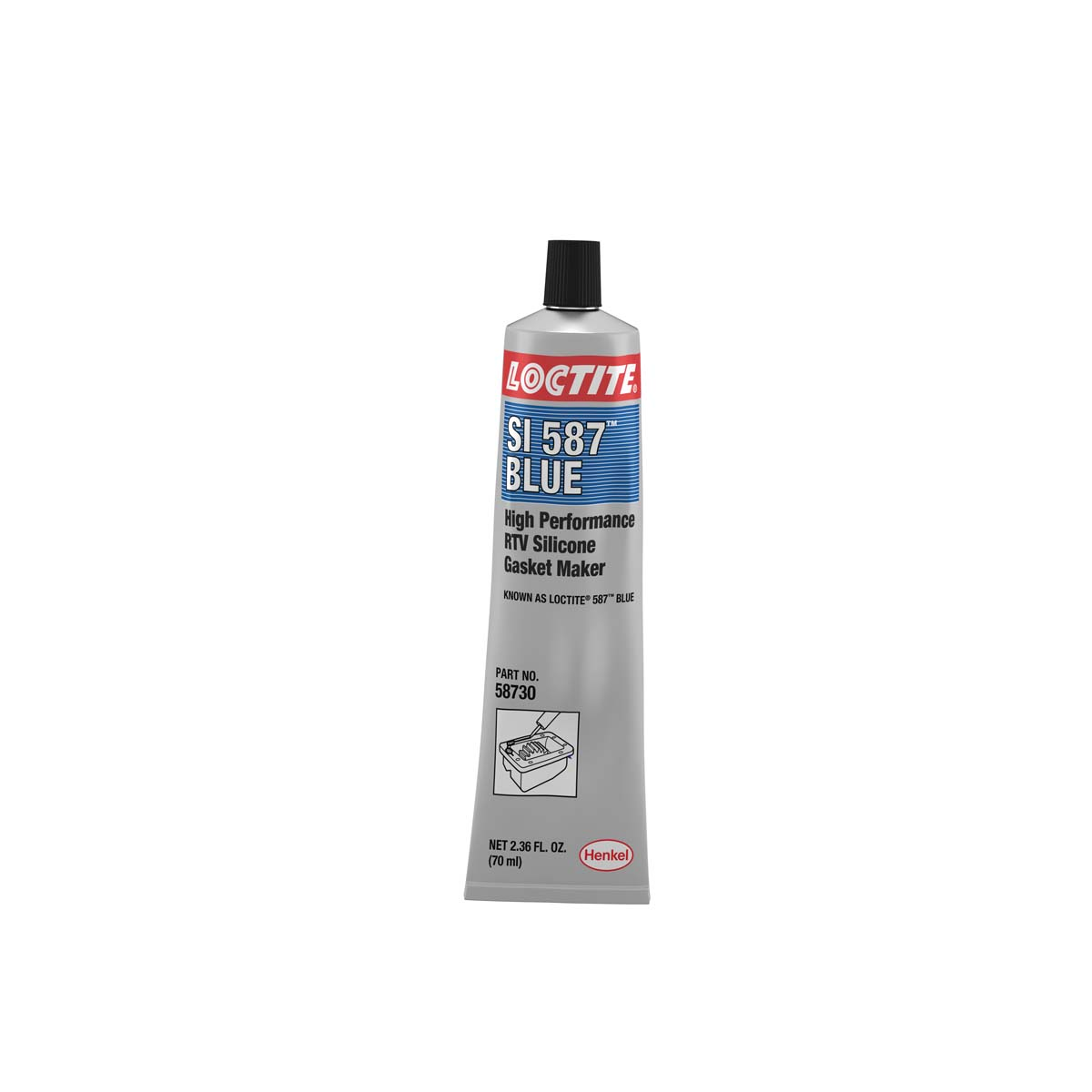 Loctite SI 587 High Performance RTV Silicone