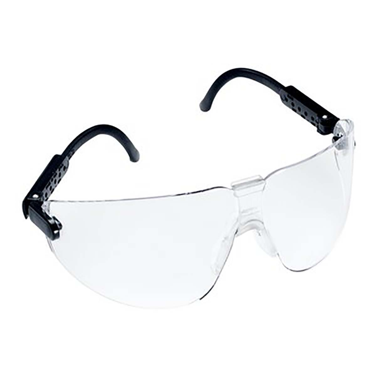 3M(TM) Lexa(TM) Protective Eyewear 15200-00000-20 Clear Anti-Fog Lens, Black Temple, Medium