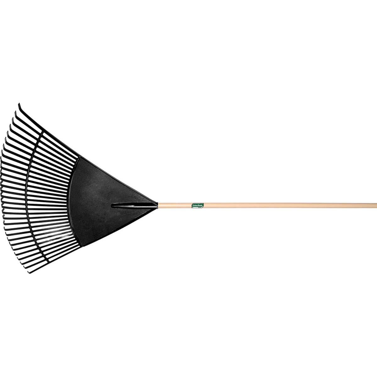 RAKE, LEAF, POLY, 30 IN, UNION