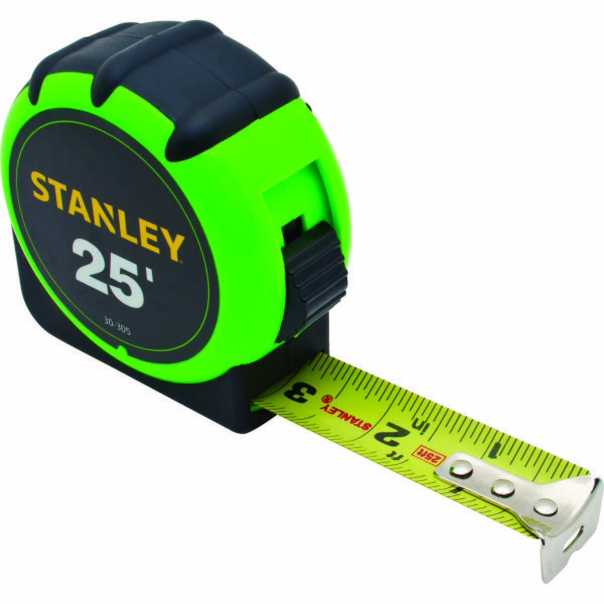 "STANLEY® HIGH-VISIBILITY TAPE RULE 1"" X 25'"
