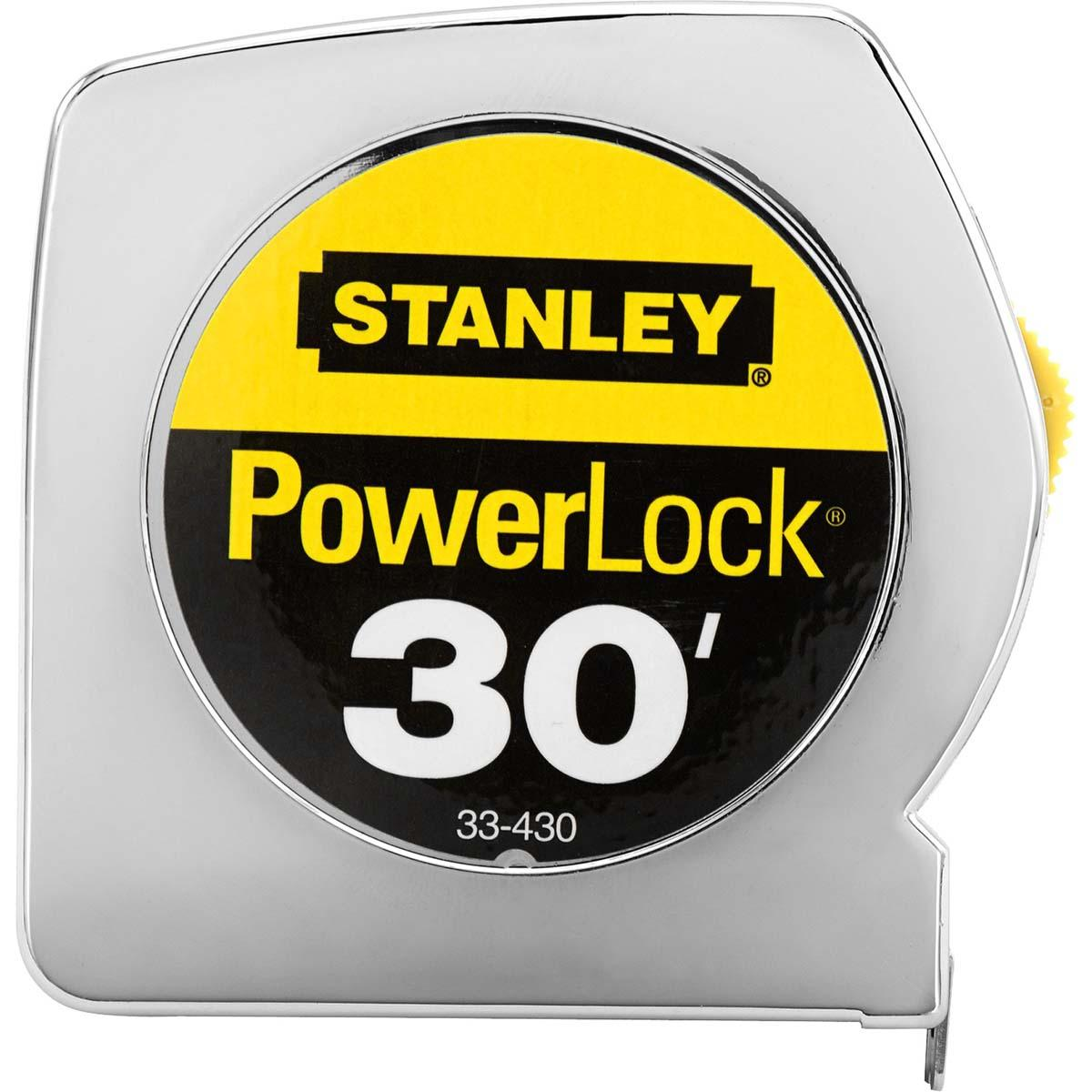 "STANLEY® POWERLOCK® CLASSIC TAPE RULE 1"" X 30'"