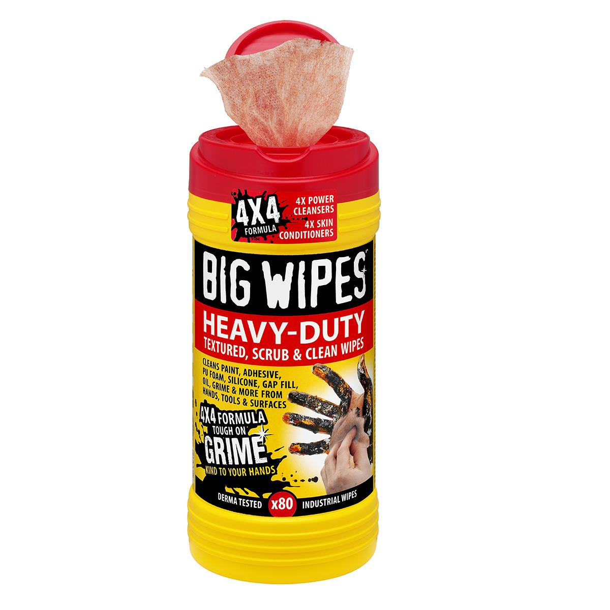 BIG WIPES Heavy Duty cleaning wipes (80ct)