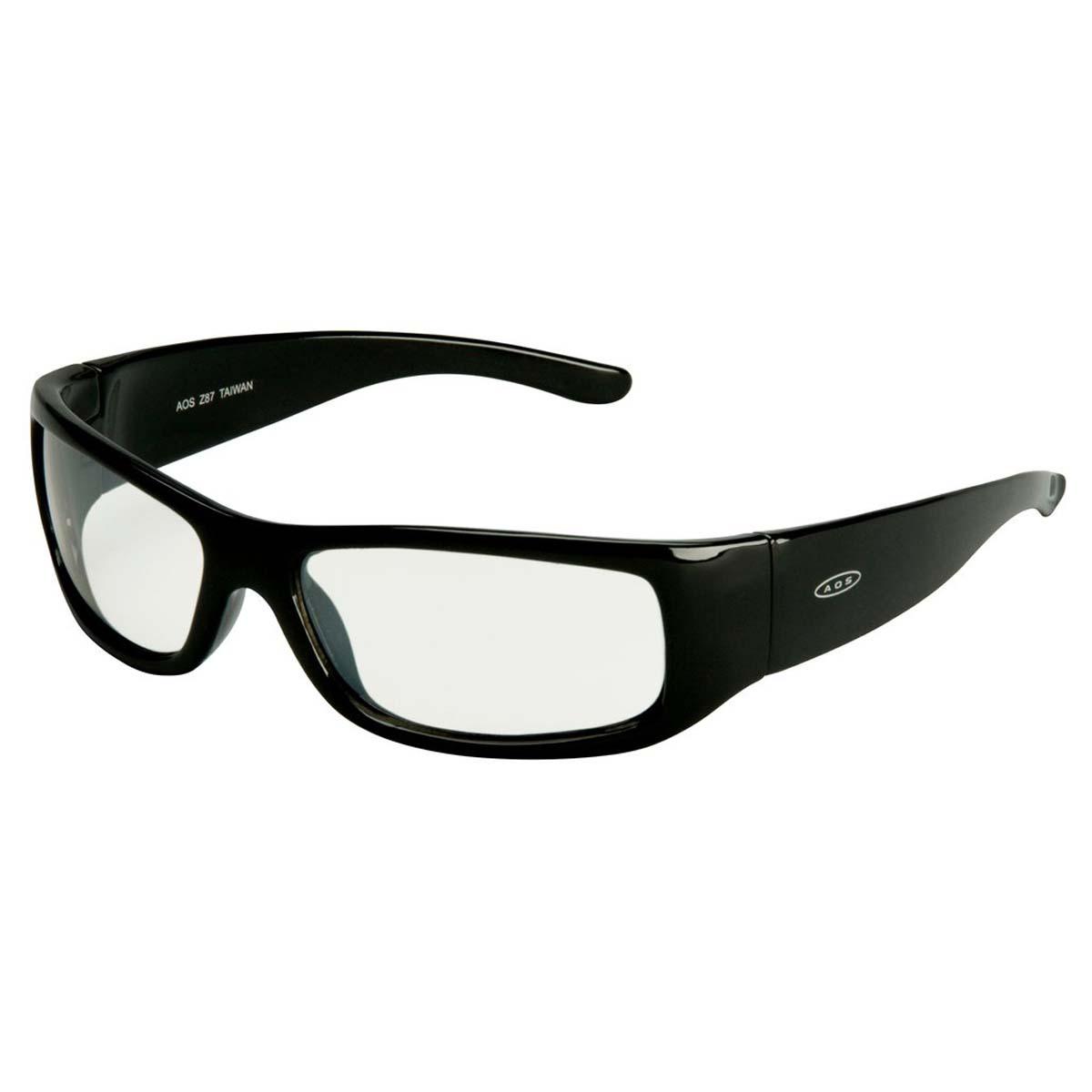 "3Mâ""¢ Moon Dawgâ""¢ Protective Eyewear 11216-00000-20 I/O Mirror Lens, Black Frame"