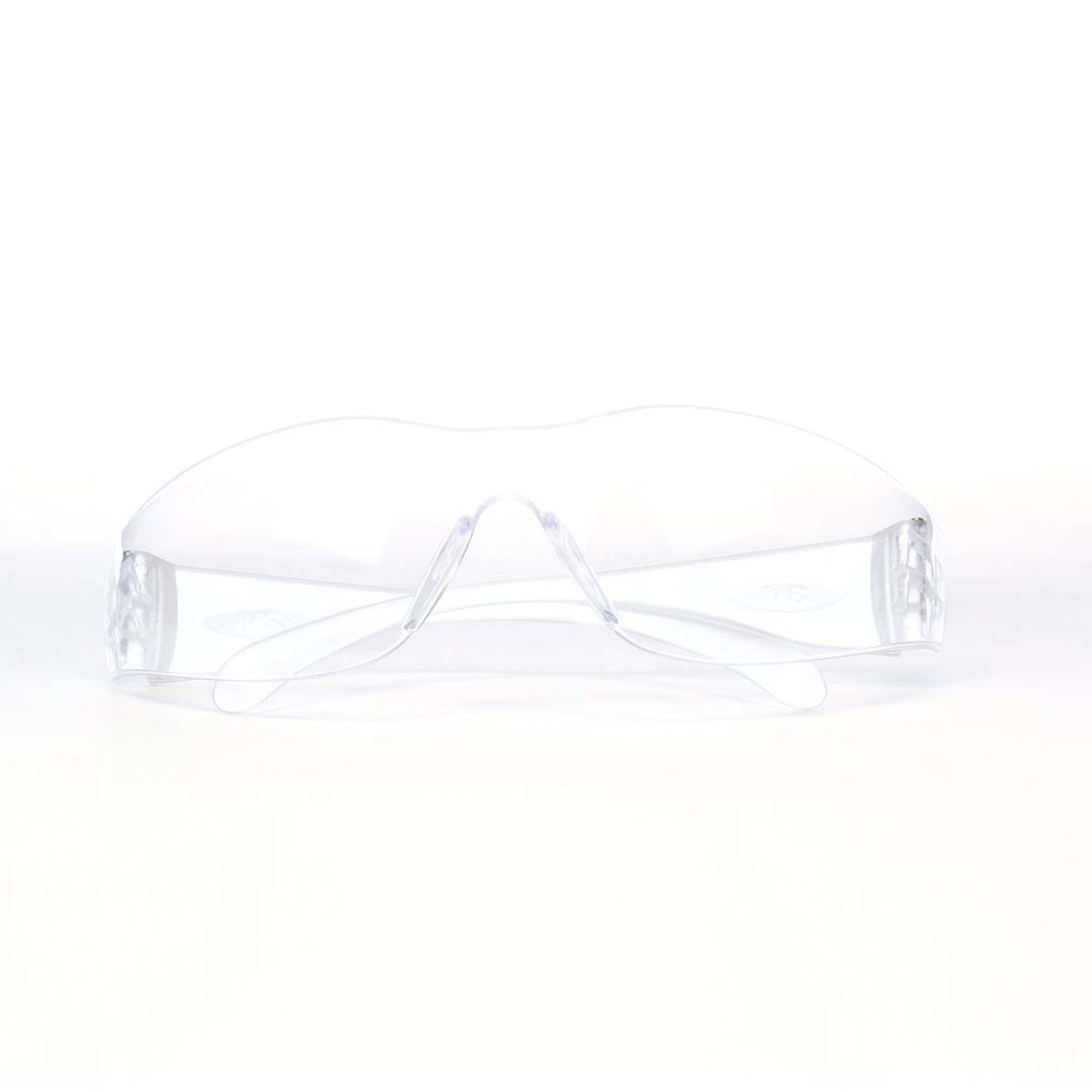 3M Virtua Protective Eyewear 11228-00000-100 Clear Uncoated Lens, Clear Temple
