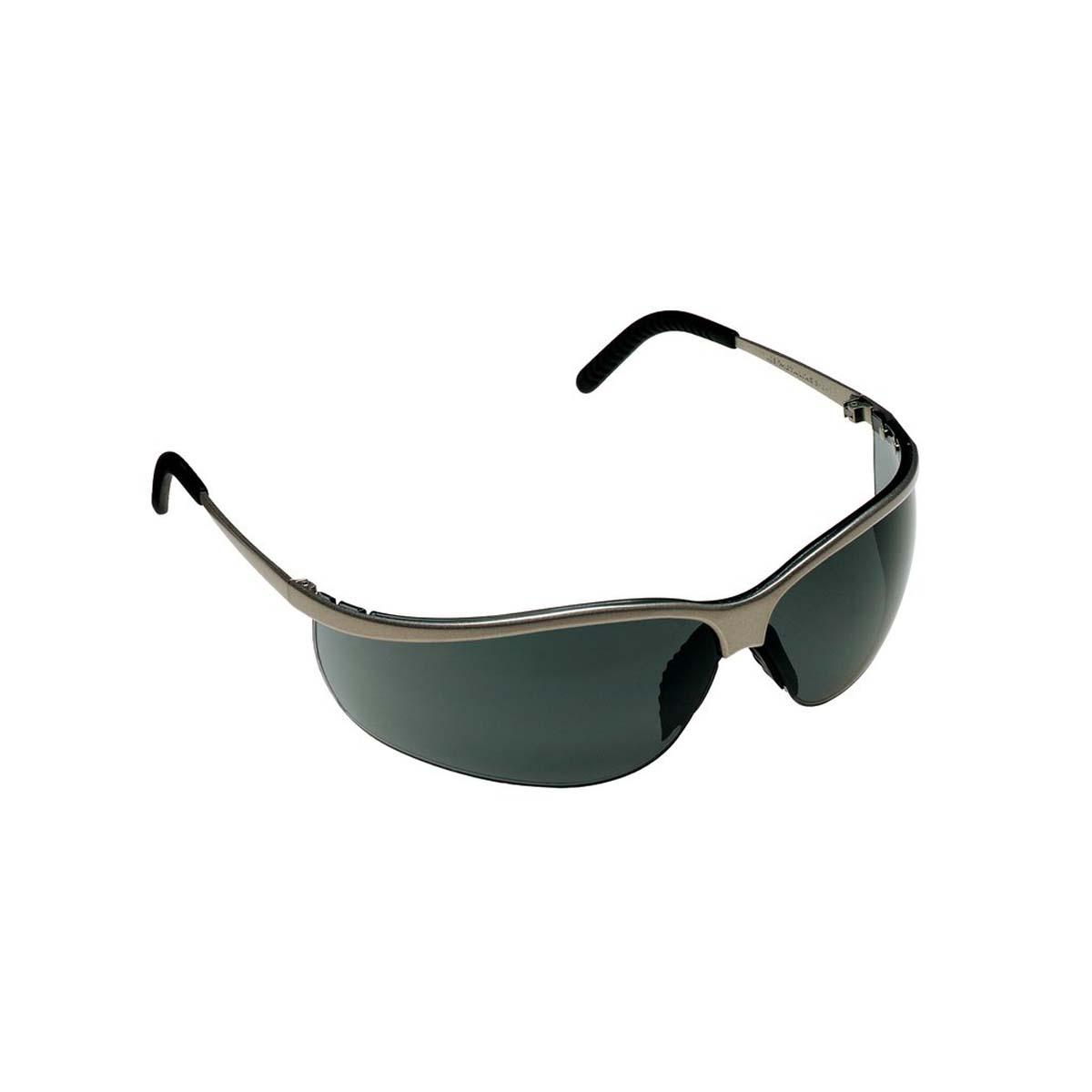 "3Mâ""¢ Metaliksâ""¢ Sport Protective Eyewear 11344-10000-20 Gray Anti-Fog Lens, Nickel Frame"