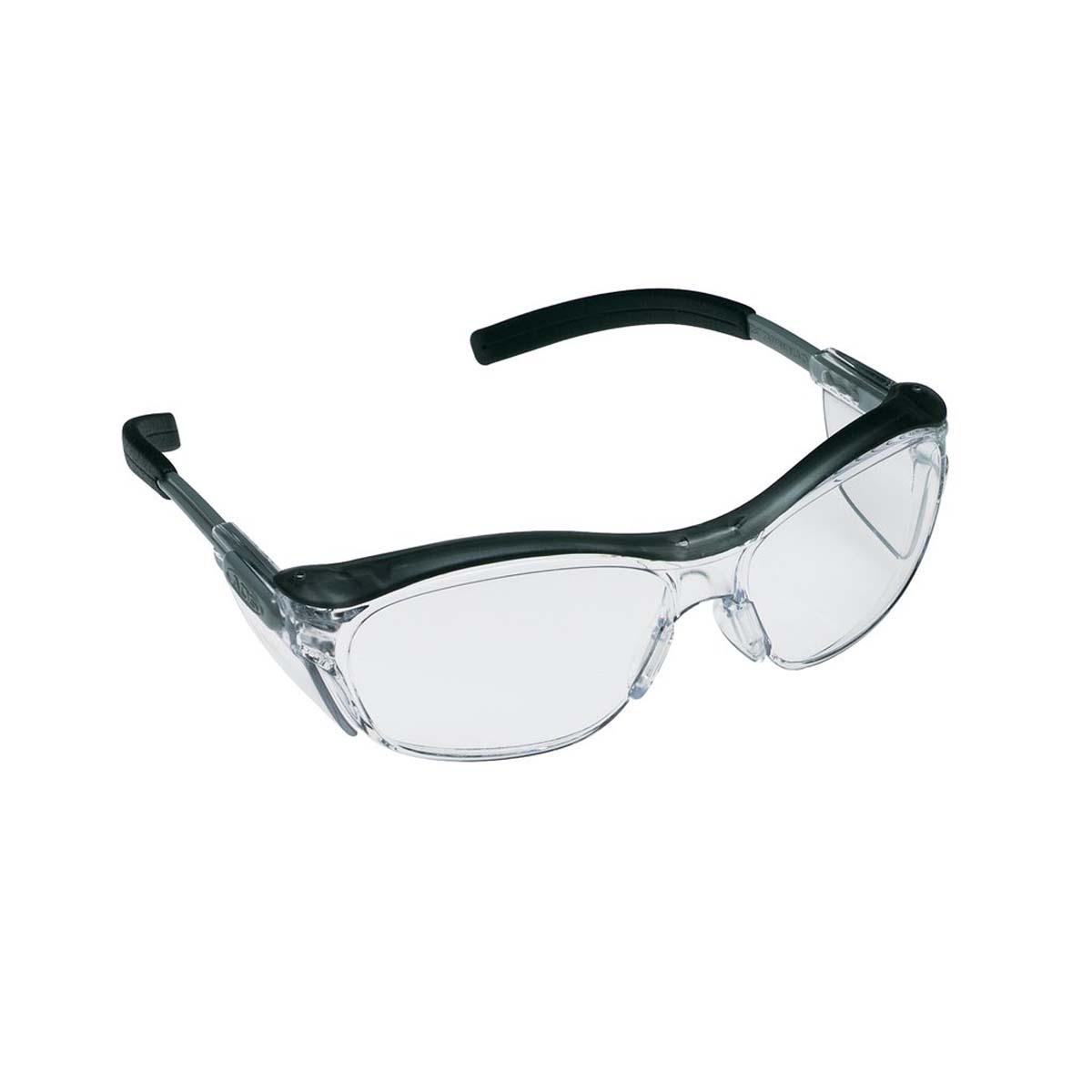 """3Mâ""""¢ Nuvoâ""""¢ Protective Eyewear 11411-00000-20 Clear Anti-Fog Lens, Gray Frame"""