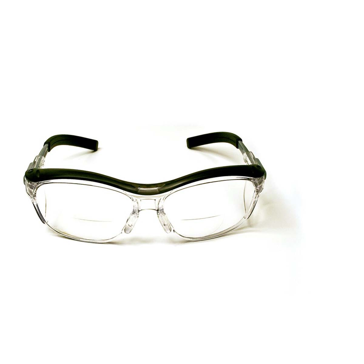 """3Mâ""""¢ Nuvoâ""""¢ Reader Protective Eyewear 11434-00000-20 Clear Lens, Gray Frame, +1.5 Diopter"""