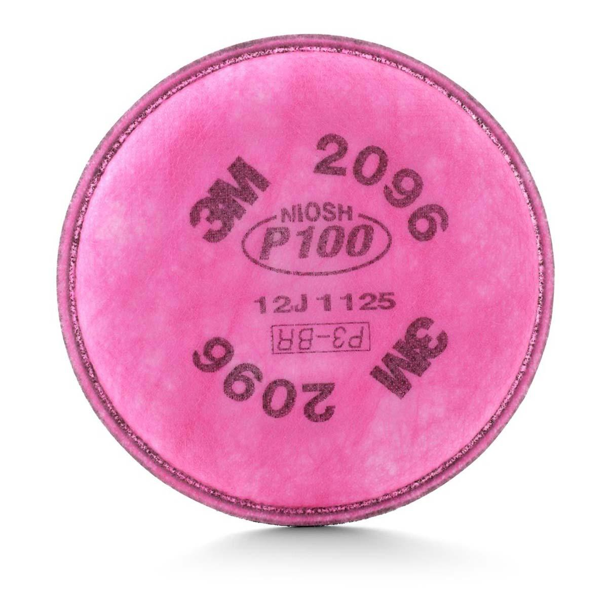 "3Mâ""¢ Particulate Filter 2096, P100, with Nuisance Level Acid Gas Relief"