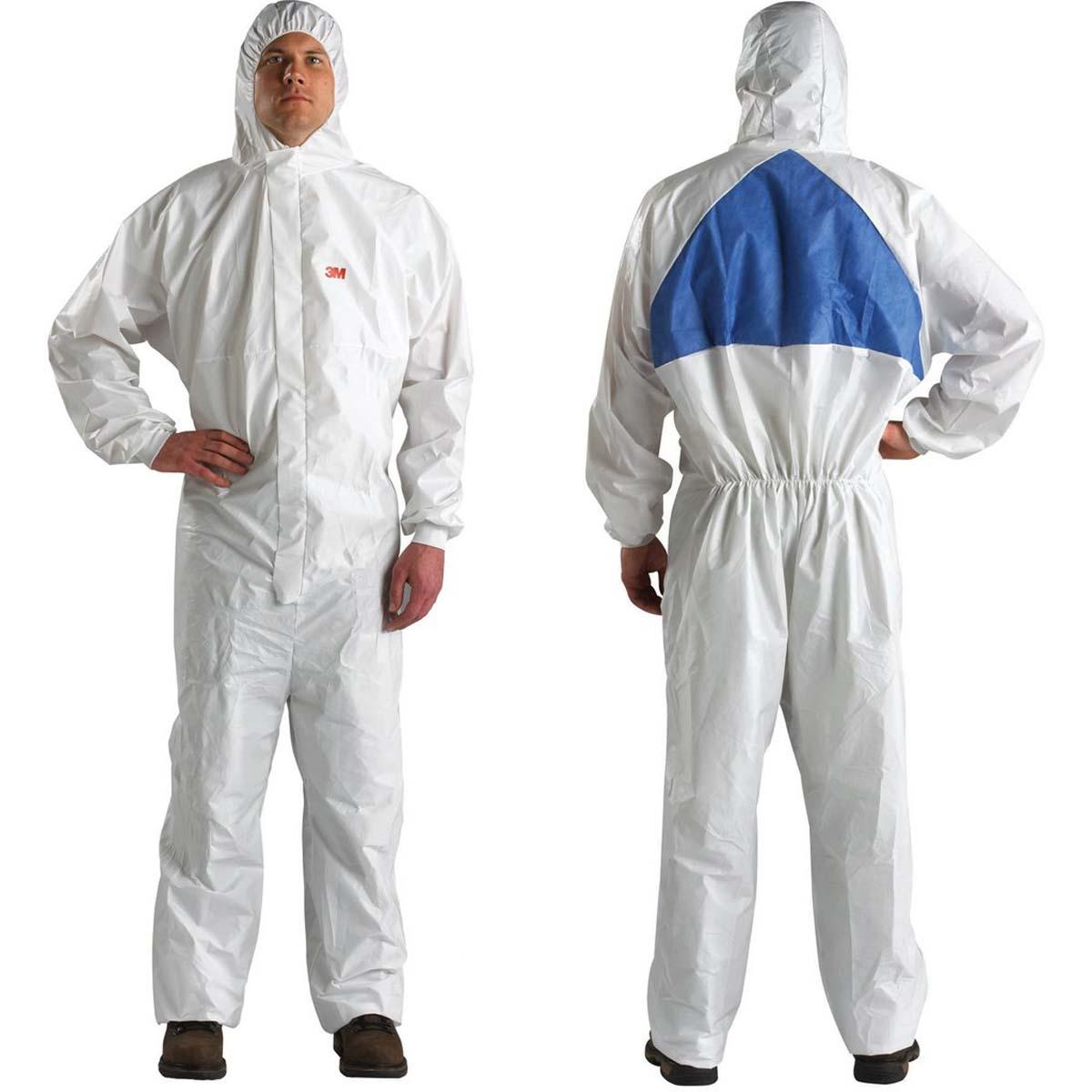 """3Mâ""""¢ Disposable Protective Coverall Safety Work Wear 4540+BLK-3XL"""