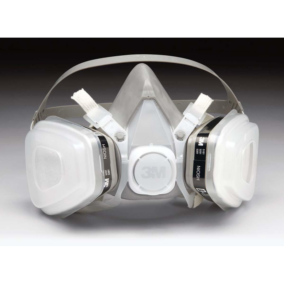 "3Mâ""¢ Half Facepiece Disposable Respirator Assembly 51P71, Organic Vapor/P95, Small"