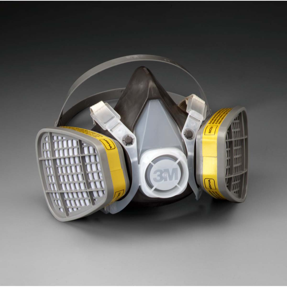 "3Mâ""¢ Half Facepiece Disposable Respirator Assembly 5303, Organic Vapor/Acid Gas, Large"