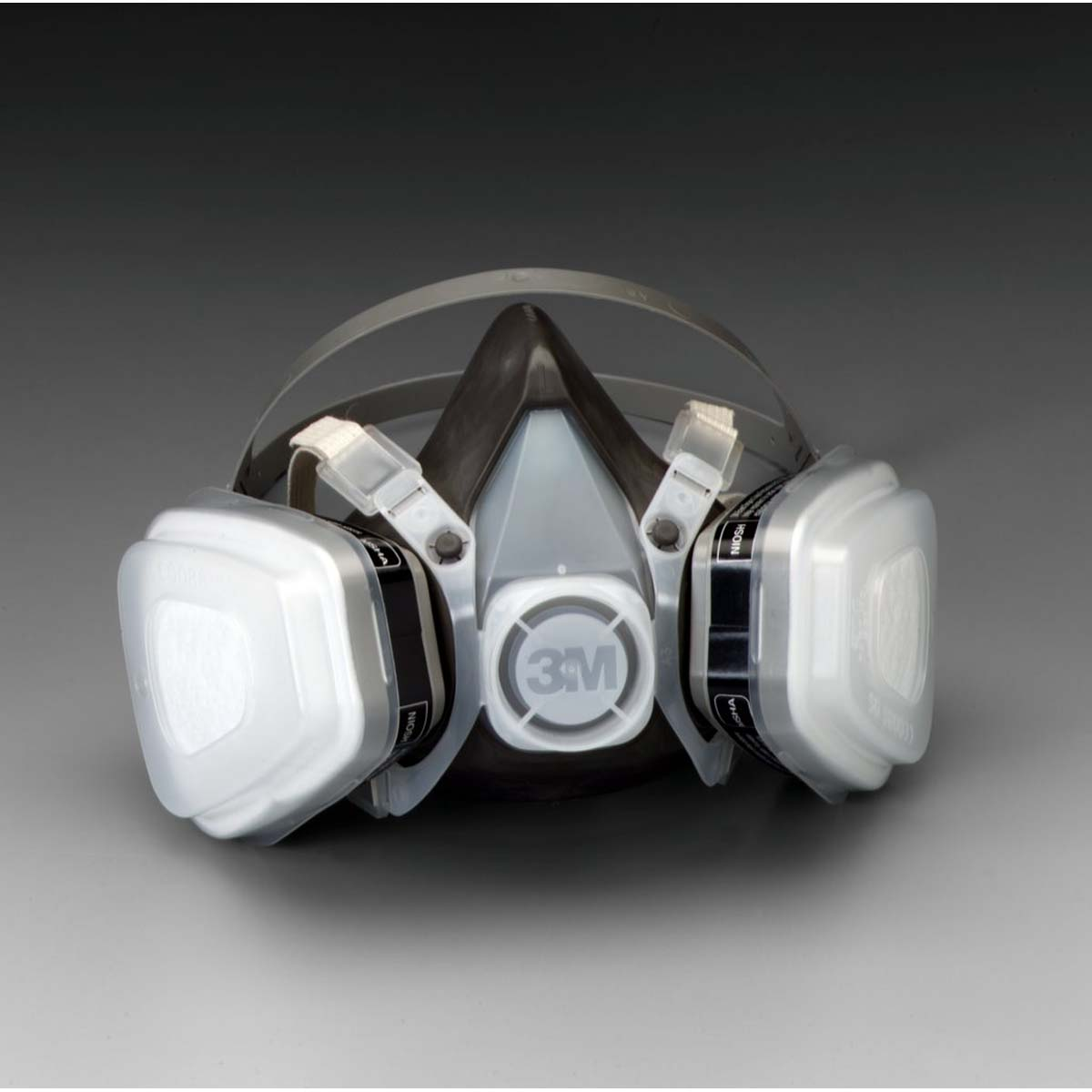 "3Mâ""¢ Half Facepiece Disposable Respirator Assembly 53P71, Organic Vapor/P95, Large"