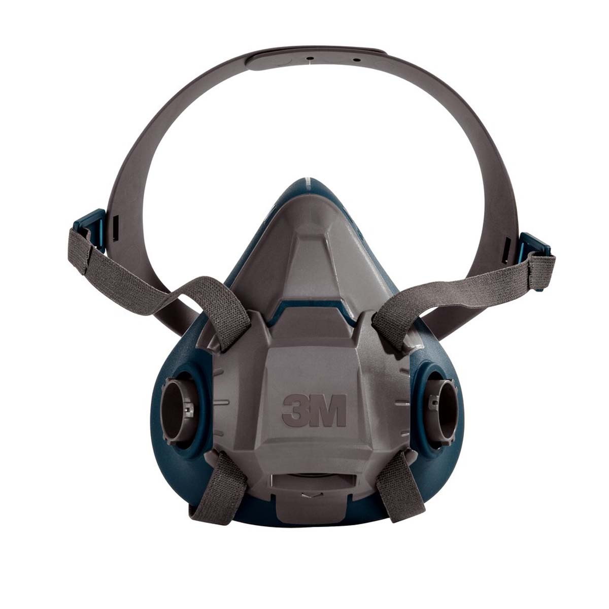 "3Mâ""¢ Rugged Comfort Half Facepiece Reusable Respirator 6502/49489 Medium"