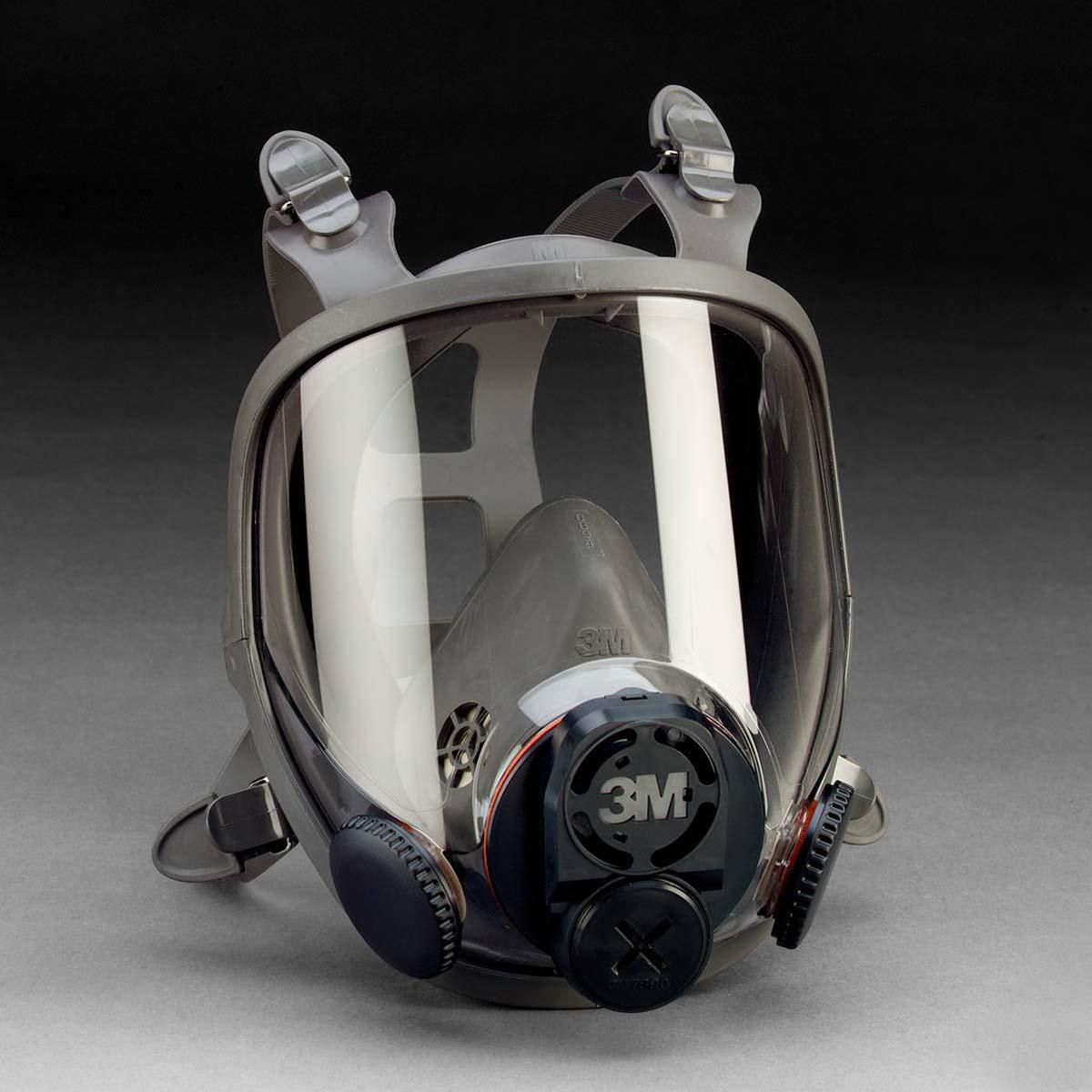 "3Mâ""¢ Full Facepiece Reusable Respirator 6800DIN Medium"