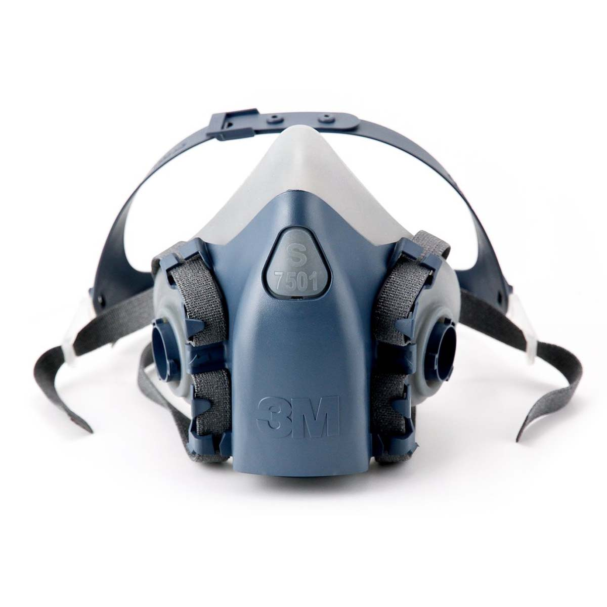 "3Mâ""¢ Half Facepiece Reusable Respirator 7501/37081(AAD) Small"