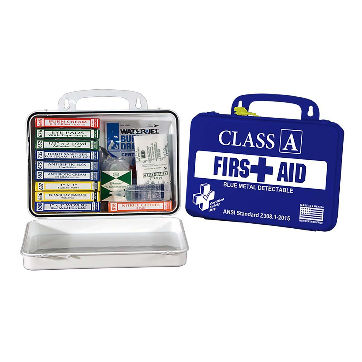Food Service First Aid Kit - Poly Navy