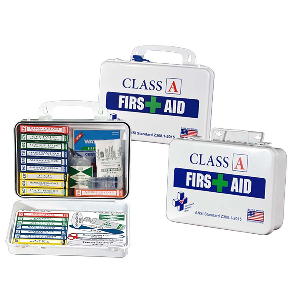 Class A ANSI First Aid Kit - Poly