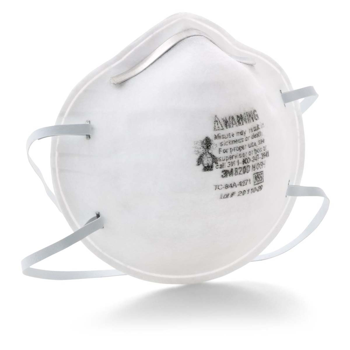 "3Mâ""¢ Particulate Respirator 8200/07023(AAD), N95"