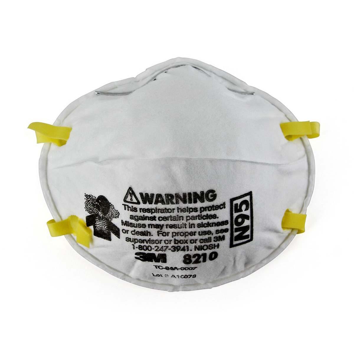 """3Mâ""""¢ Particulate Respirator 8210, N95"""