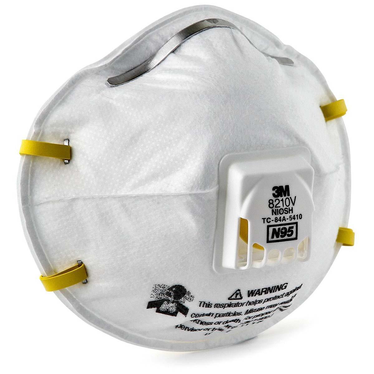 """3Mâ""""¢ Particulate Respirator 8210V, N95"""