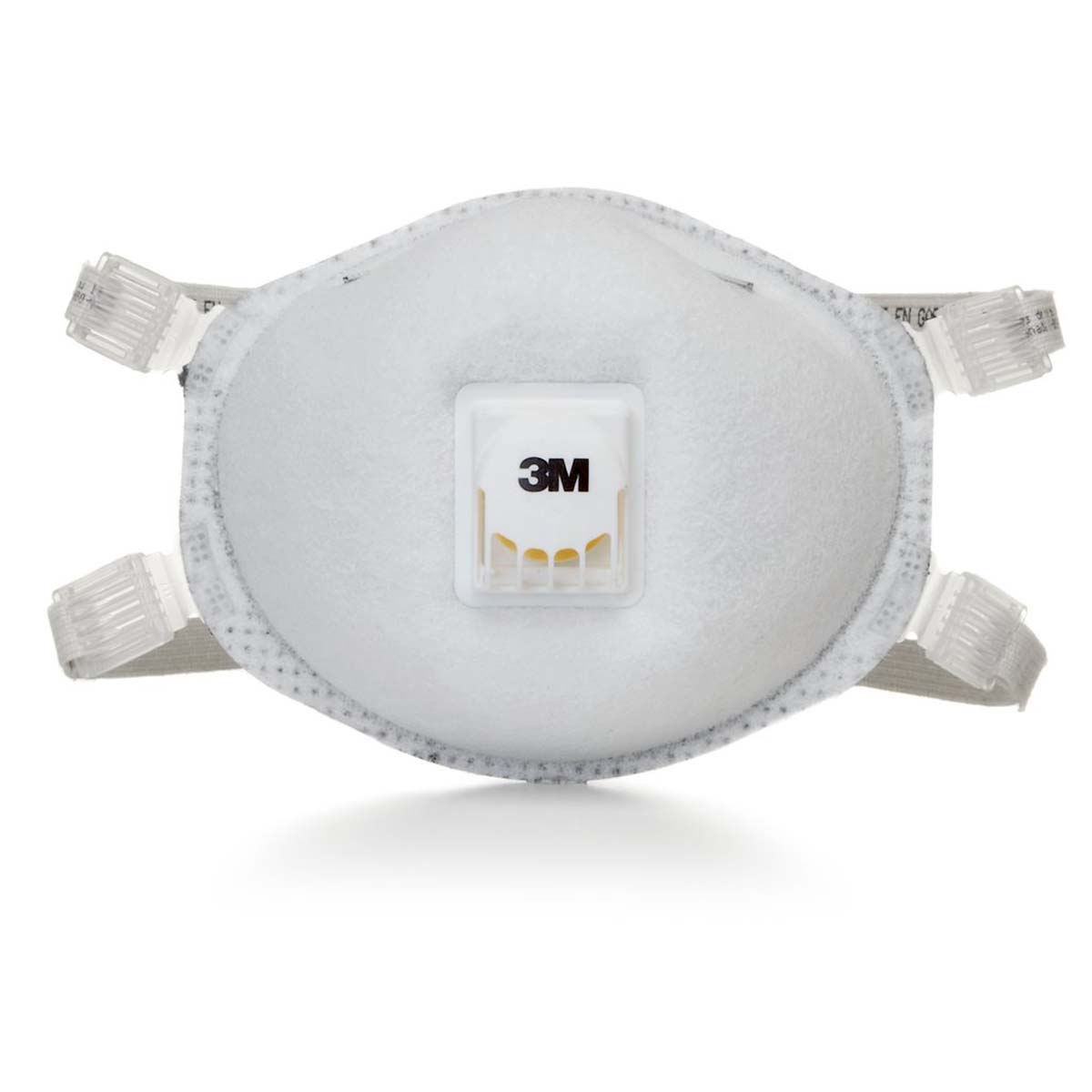 """3Mâ""""¢ Particulate Respirator 8214, N95, with Faceseal and Nuisance Level Organic Vapor Relief"""
