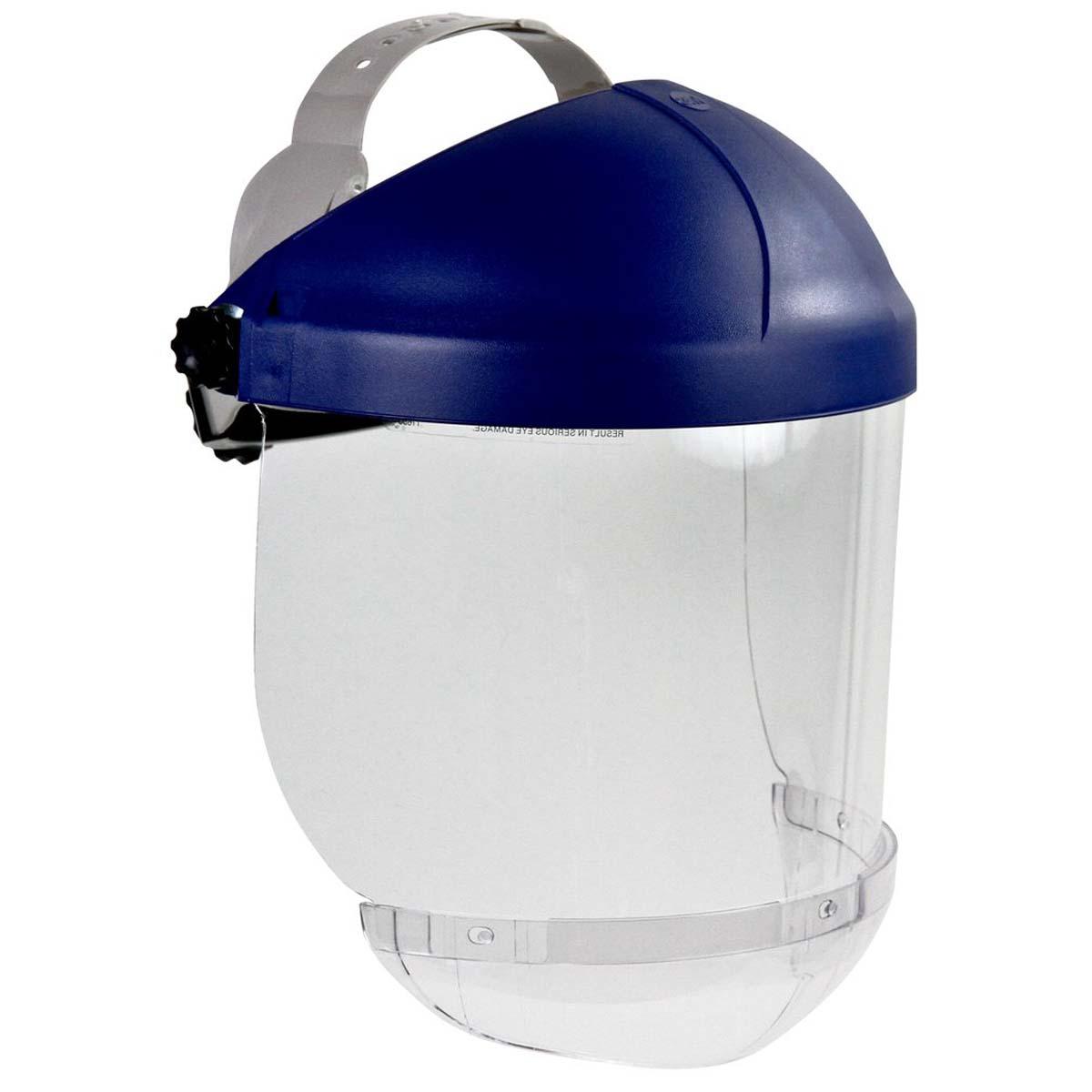 "3Mâ""¢ Ratchet Headgear 82521-10000, with 3Mâ""¢ Clear Chin Protector HCP8, Visor Not Included"