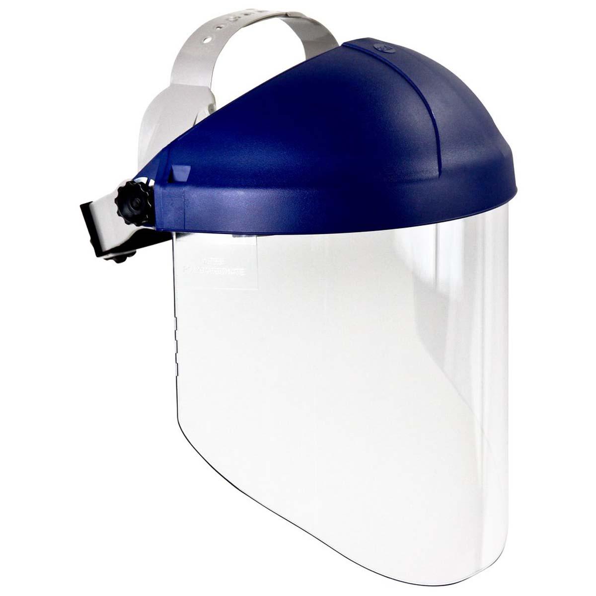 "3Mâ""¢ Ratchet Headgear H8A, 82783-00000, with 3Mâ""¢ Clear Polycarbonate Faceshield WP96"