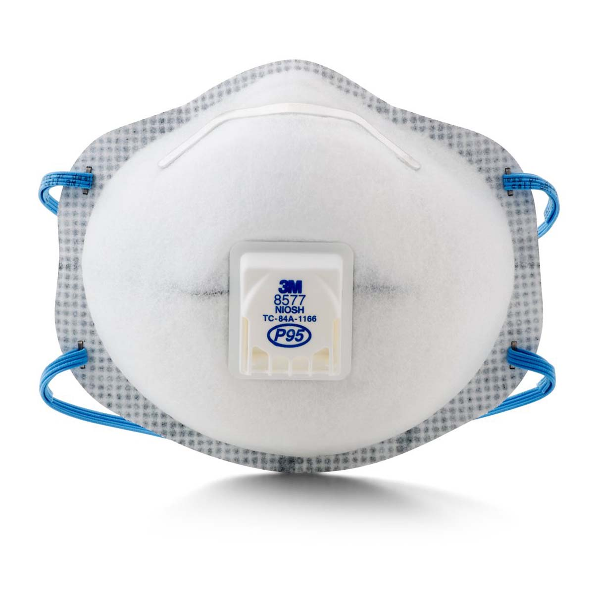 "3Mâ""¢ Particulate Respirator 8577, P95, with Nuisance Level Organic Vapor Relief"