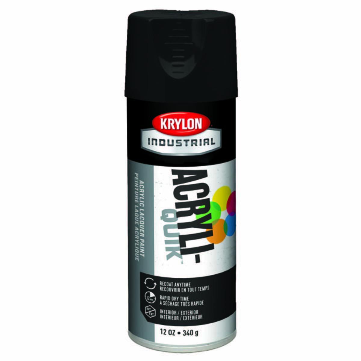 "Acryli-Quikâ""¢ Acrylic Lacquer, Semi-Flat Black"