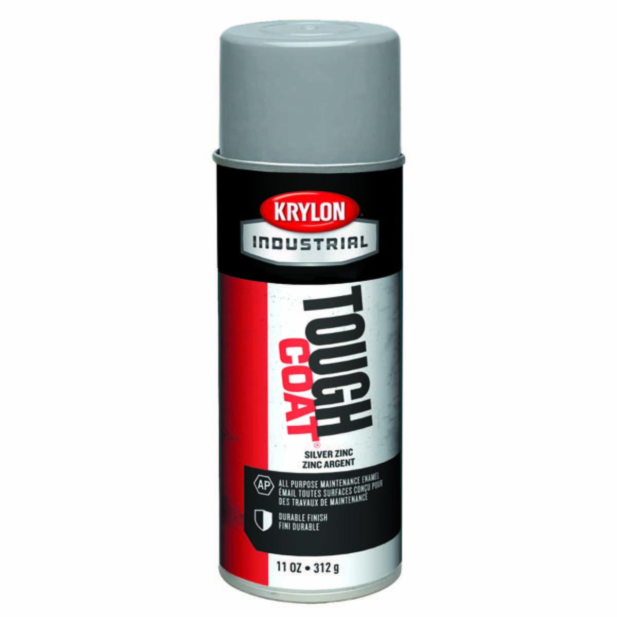 Tough Coat® Acylic Enamel, Silver Zinc