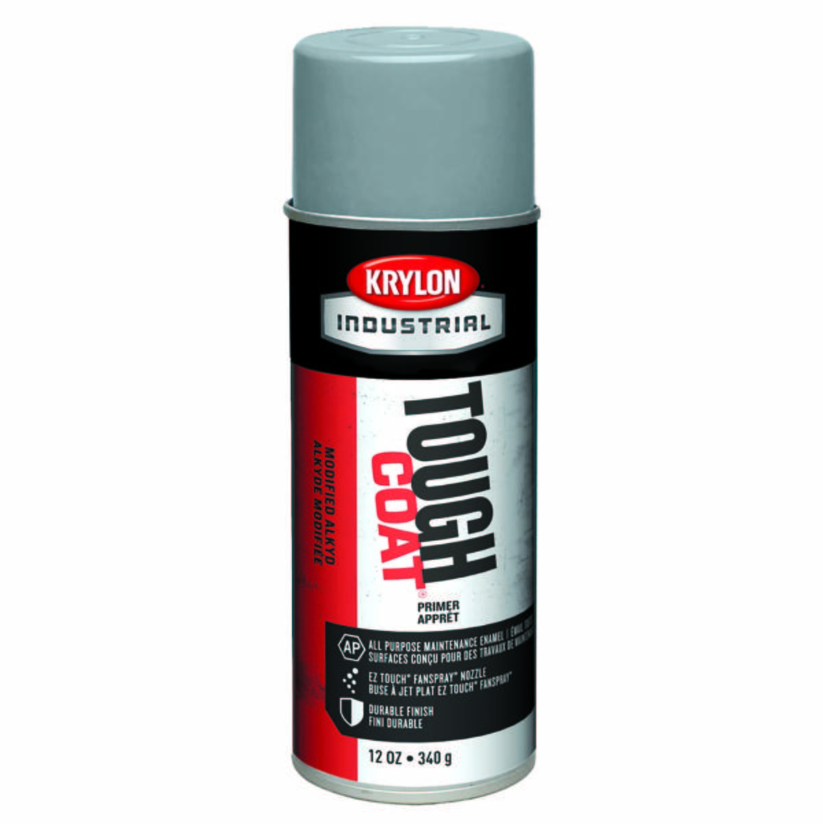 Tough Coat® Acylic Enamel, Light Gray Sandable Primer
