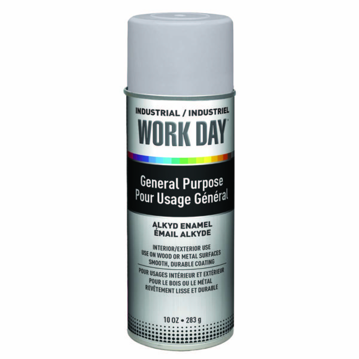 "Work Dayâ""¢ Enamel Paints, Gray Primer"