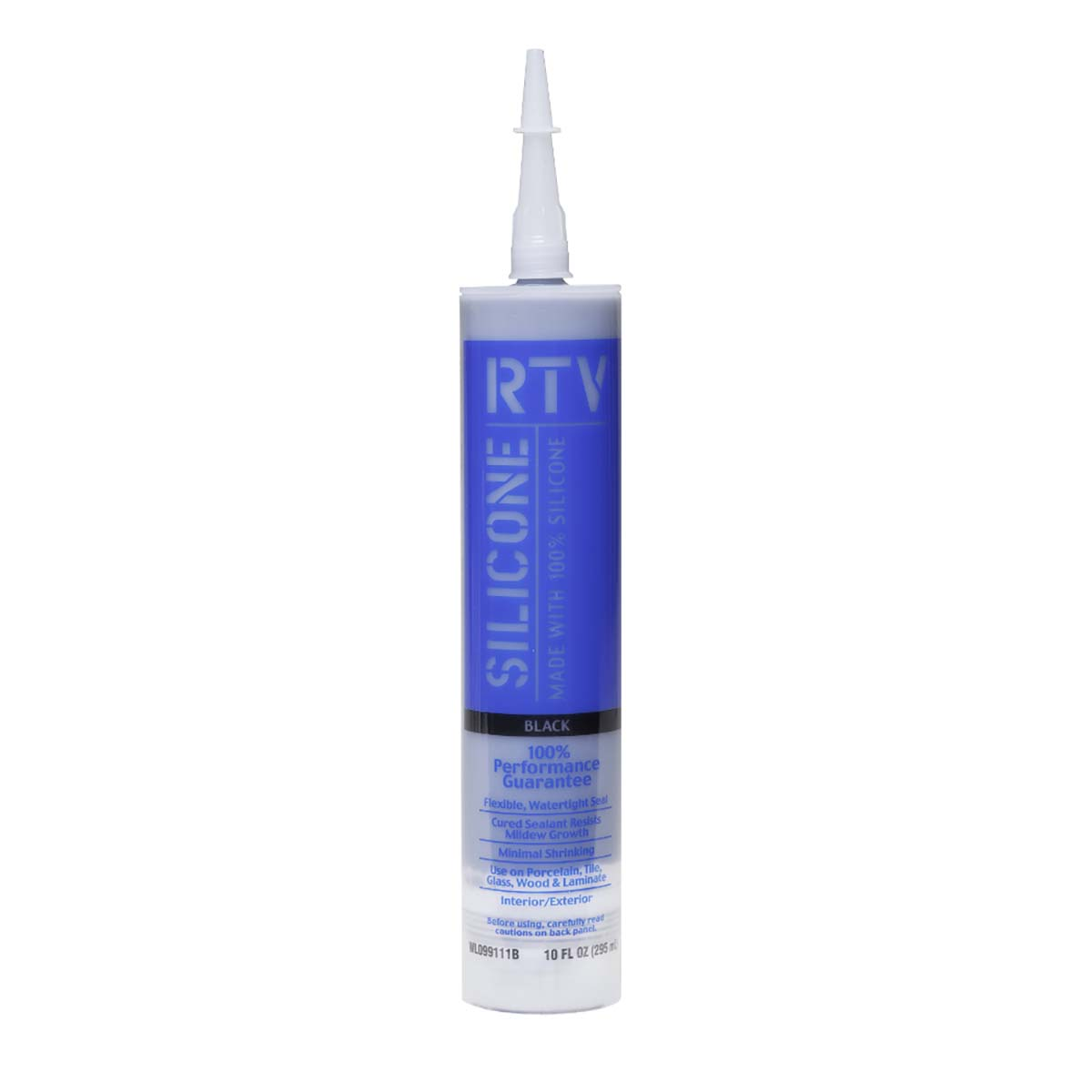 White Lightning® Contractor RTV Silicone Sealant Black 10 oz.