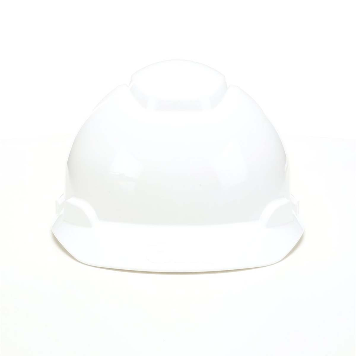 3M Hard Hat H-701R, White 4-Point Ratchet Suspension,