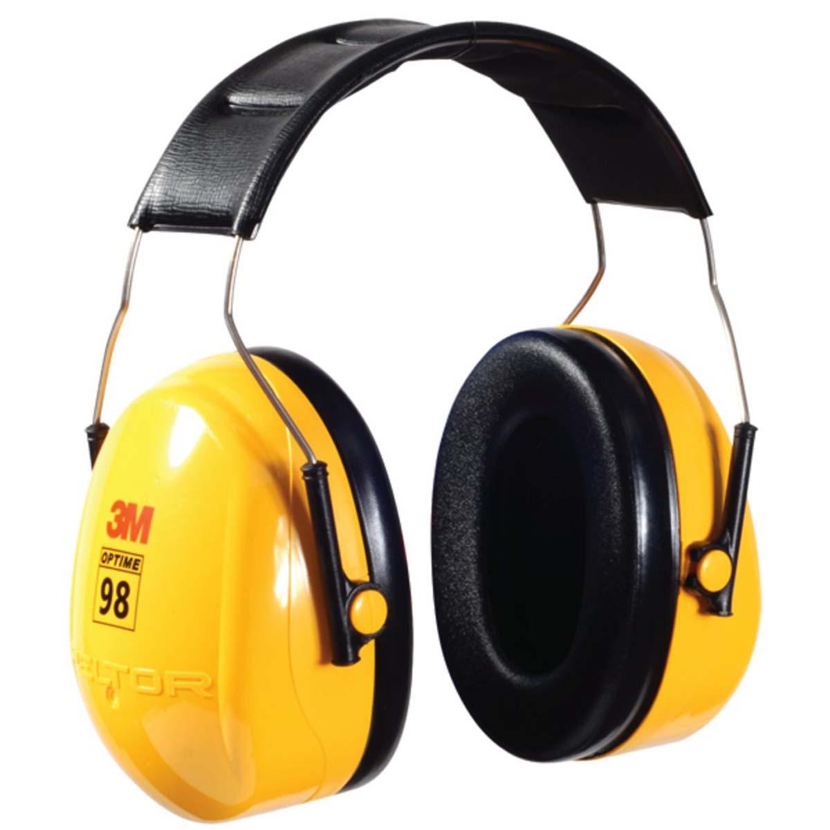 """3Mâ""""¢ PELTORâ""""¢ Optimeâ""""¢ 98 Over-the-Head Earmuffs H9A"""