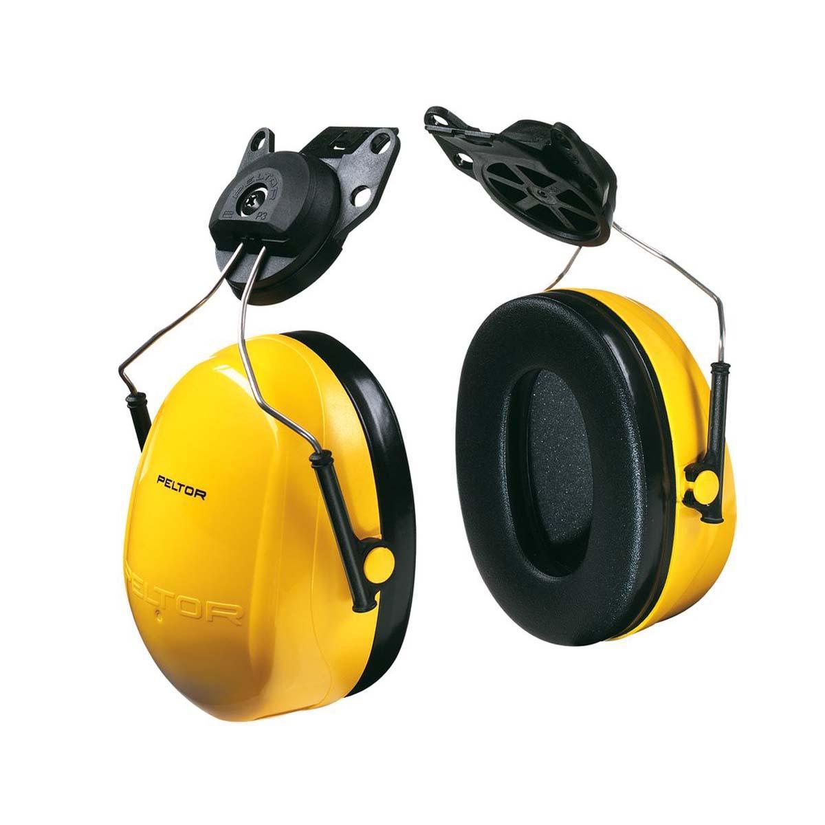 "3Mâ""¢ Peltorâ""¢ Optimeâ""¢ 98 Cap-Mount Earmuffs, Hearing Conservation H9P3E"