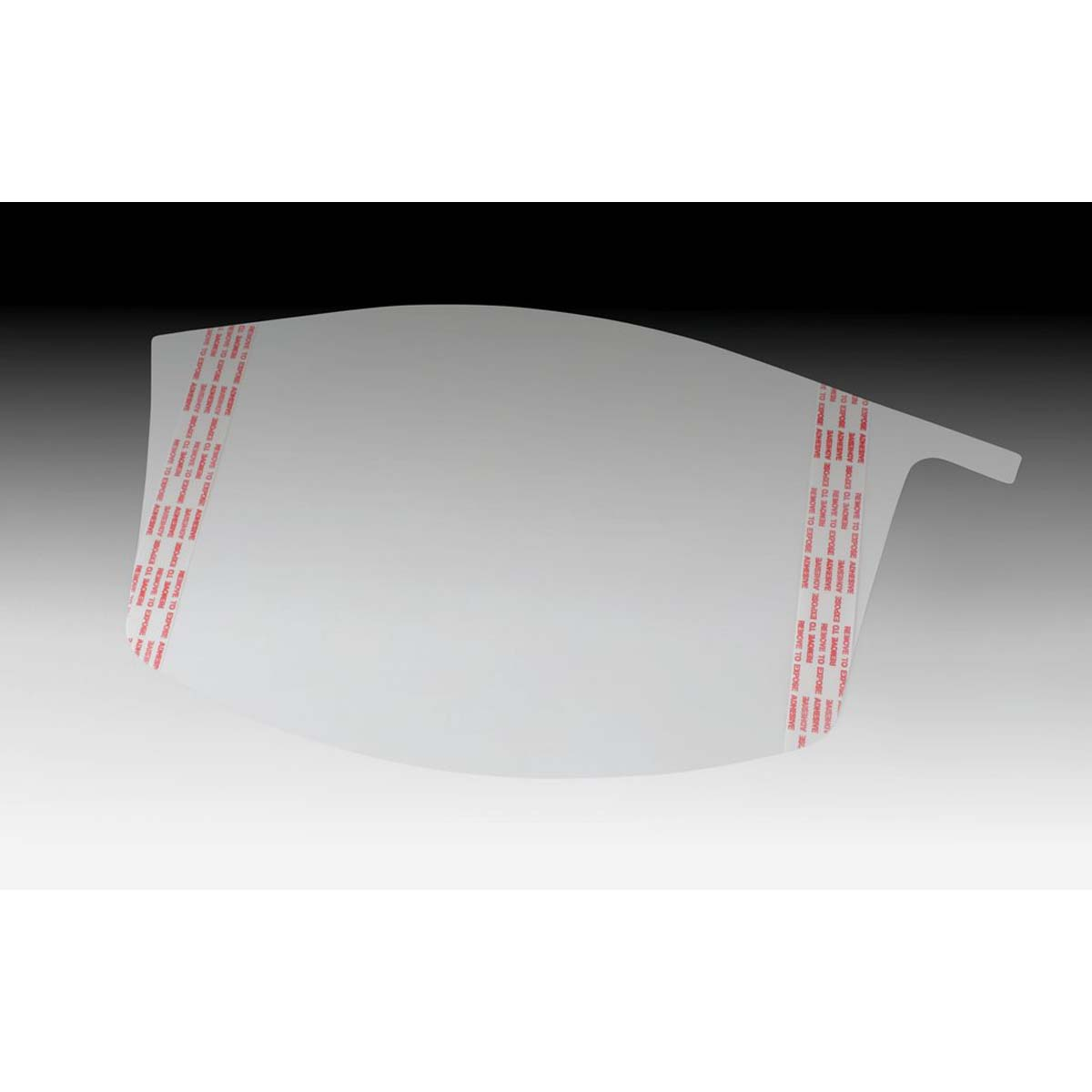 "3Mâ""¢ Versafloâ""¢ Peel-Off Visor Covers M-928/37452(AAD), for M-927 Premium Visor"
