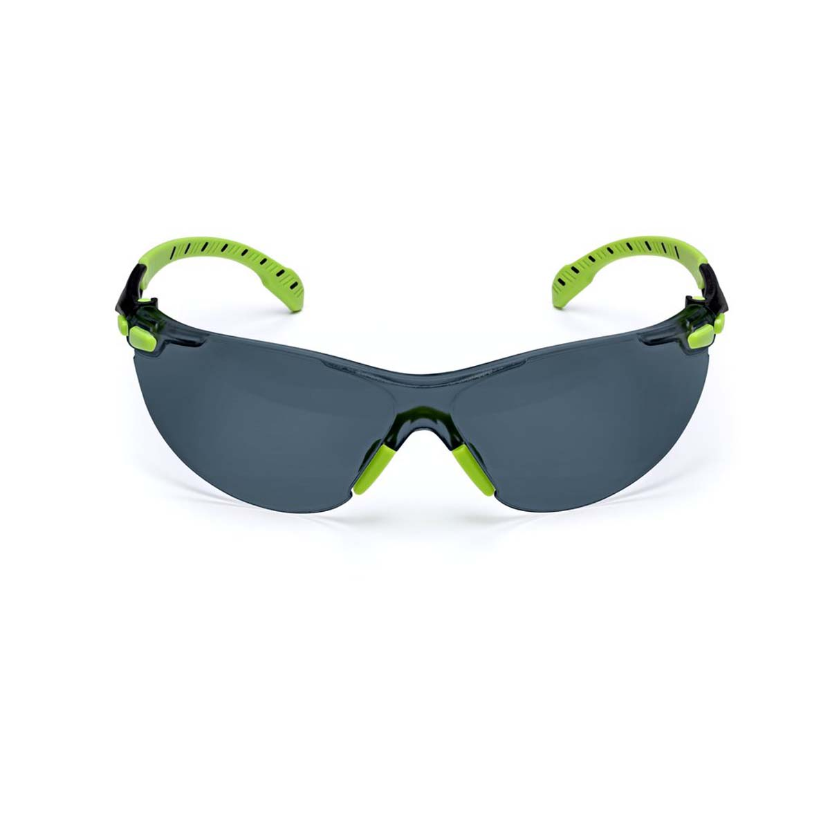 "3Mâ""¢ Solusâ""¢ 1000-Series S1202SGAF, Green/Black, Grey Scotchgardâ""¢ Anti-fog Lens"