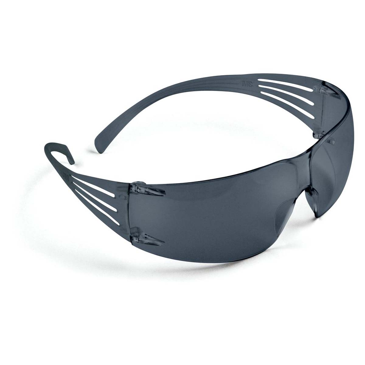 "3Mâ""¢ SecureFitâ""¢ Protective Eyewear SF202AF, Gray Lens,"