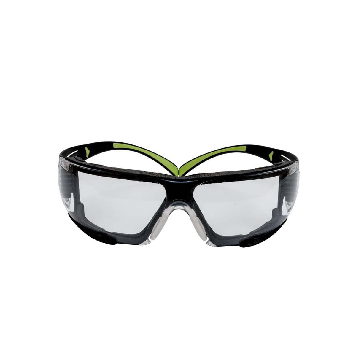 "3Mâ""¢SecureFitâ""¢, 400-Series, Protective Eyewear, SF410AS-FM, Indoor/Outdoor mirror lens, Foam, 20ea/cs"