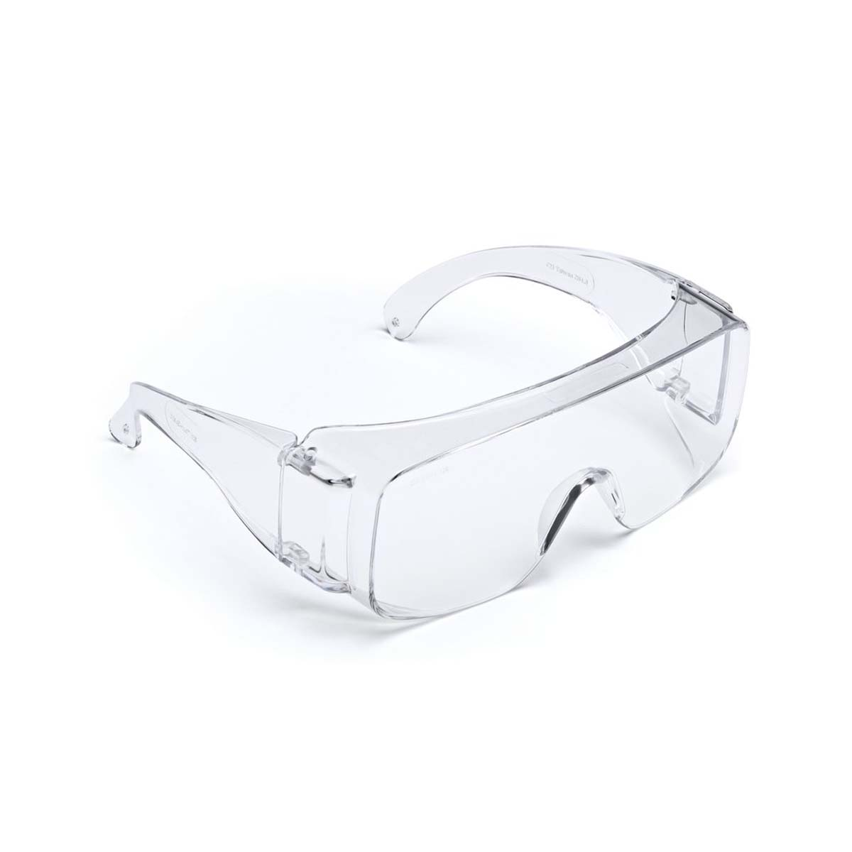"3Mâ""¢ Tour-Guardâ""¢ V Protective Eyewear, TGV01-20 Clear, Dispenser Box, 20/box, 5 box/case"