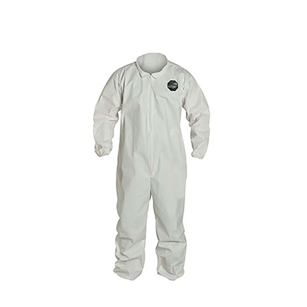 PROSHIELD® 60, COVERALL, ZIPPER FRONT, ELASTIC WRIST AND ANKLE, STORMFLAP