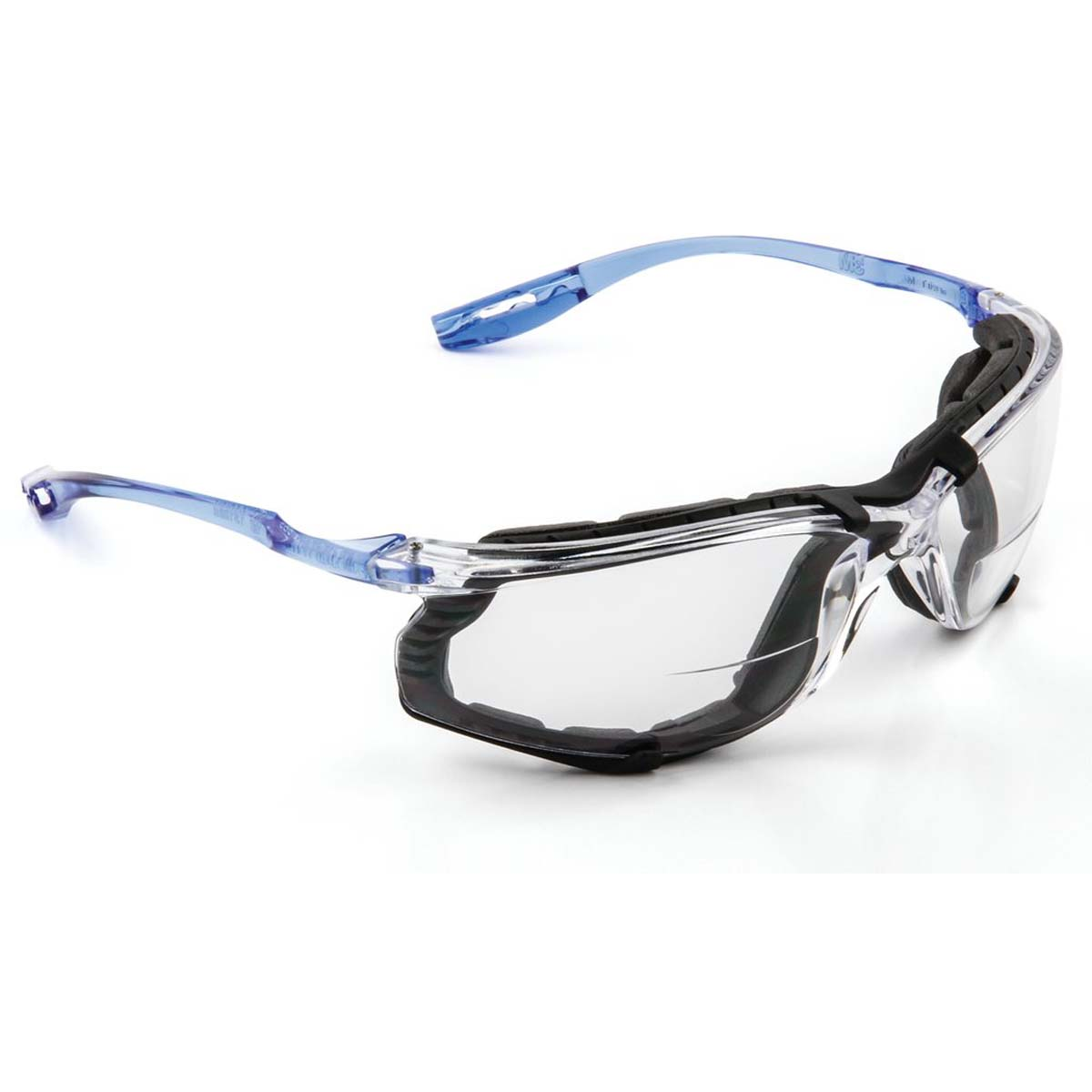 "3Mâ""¢ Virtuaâ""¢ CCS Protective Eyewear with Foam Gasket, VC215AF Clear +2.0D Anti-Fog Lens,"