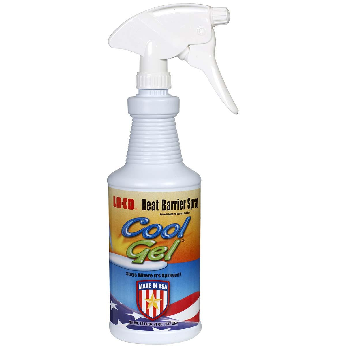 Cool Gel Heat Barrier Spray - Quart Spray Bottle