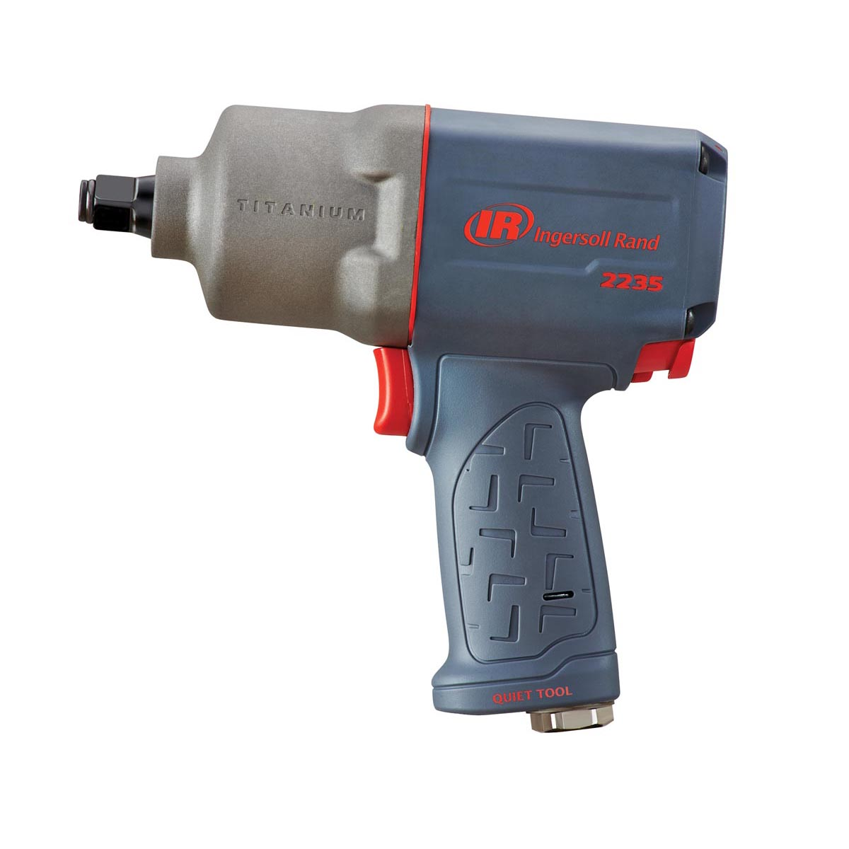 1/2-In Drive Quiet Titanium Impact Wrench - 900 Ft-Lbs Max Torque