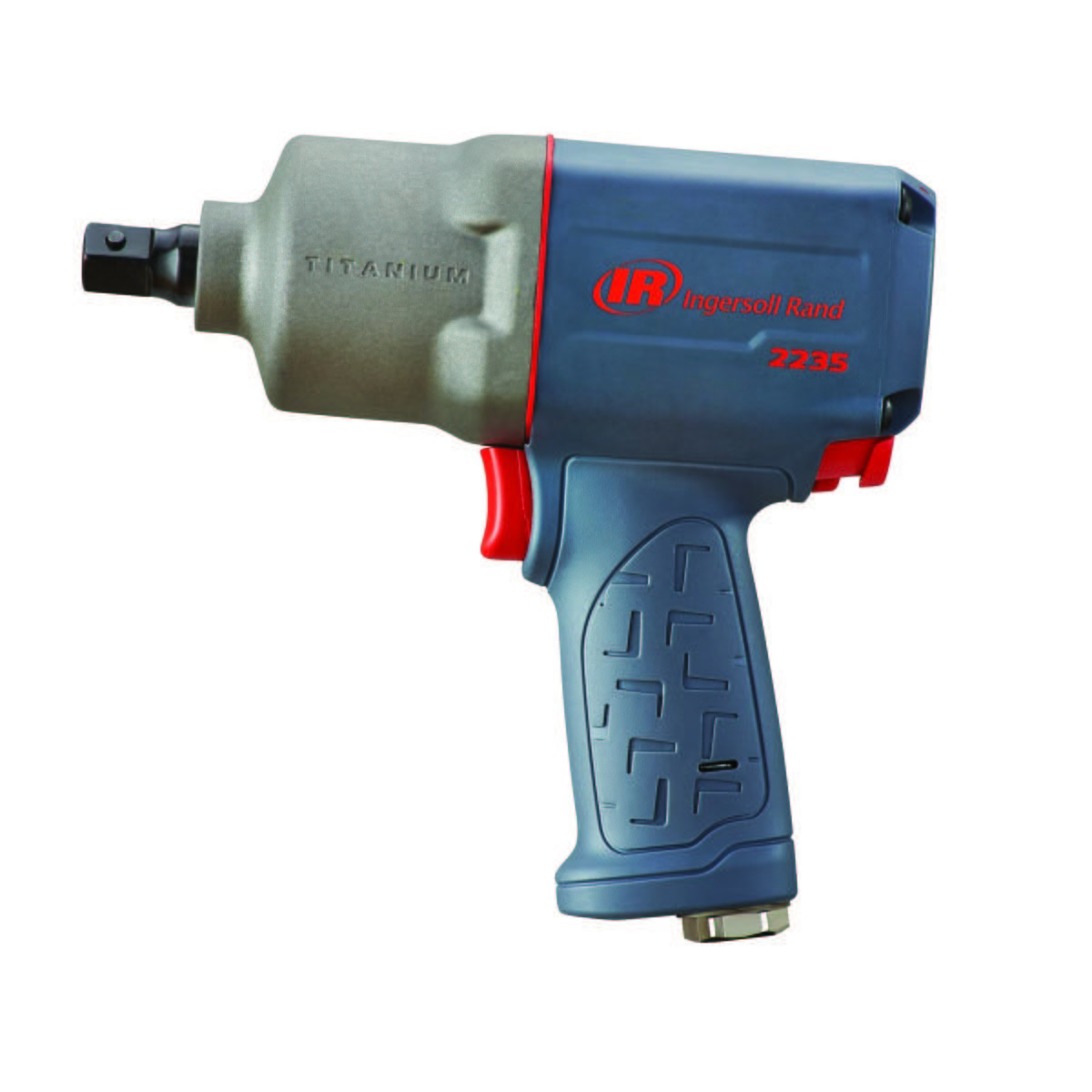 1/2-In Drive Pin Anvil Titanium Impact Wrench - 930 Ft-Lbs Max Torque