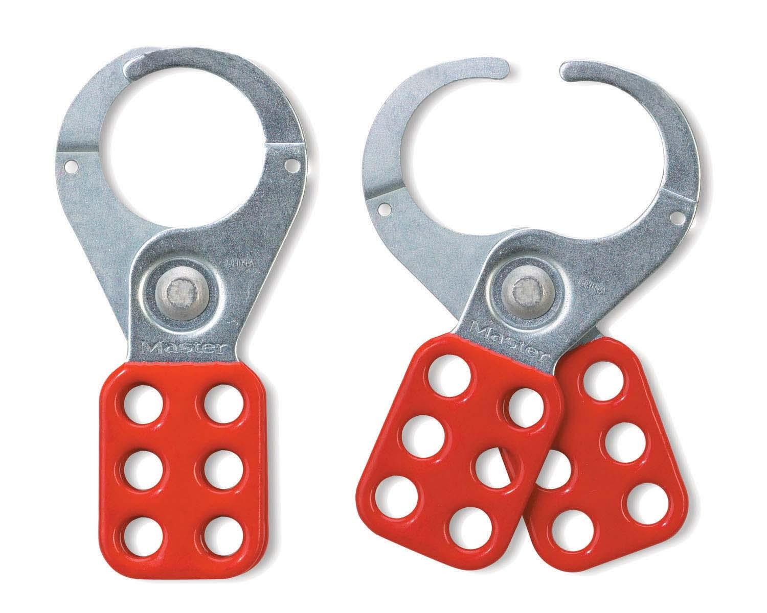 Steel Lockout Hasp - 1-1/2in jaw