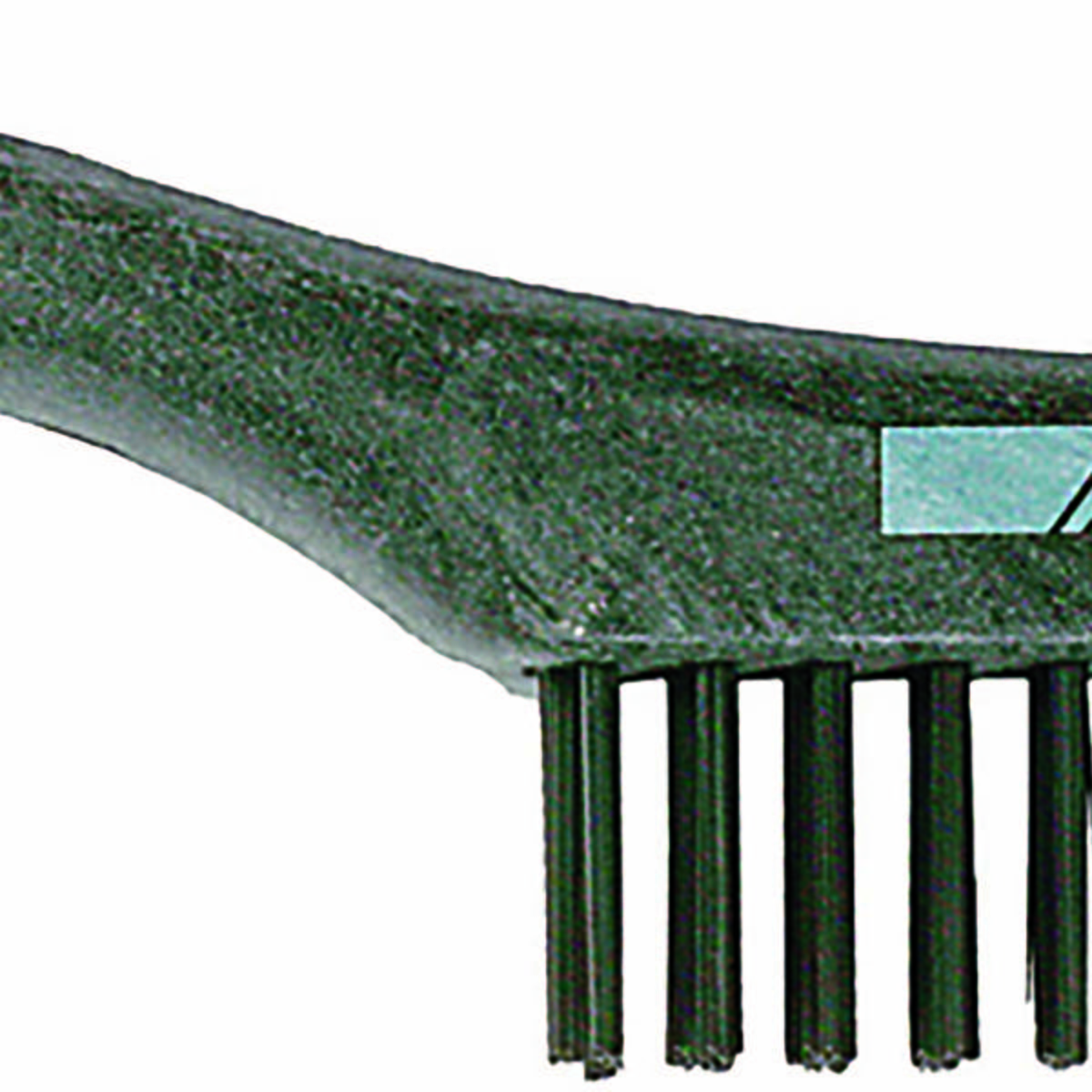 Shoe Handle Scratch Brush 4x16 Rows, SS Wire, Wooden Block