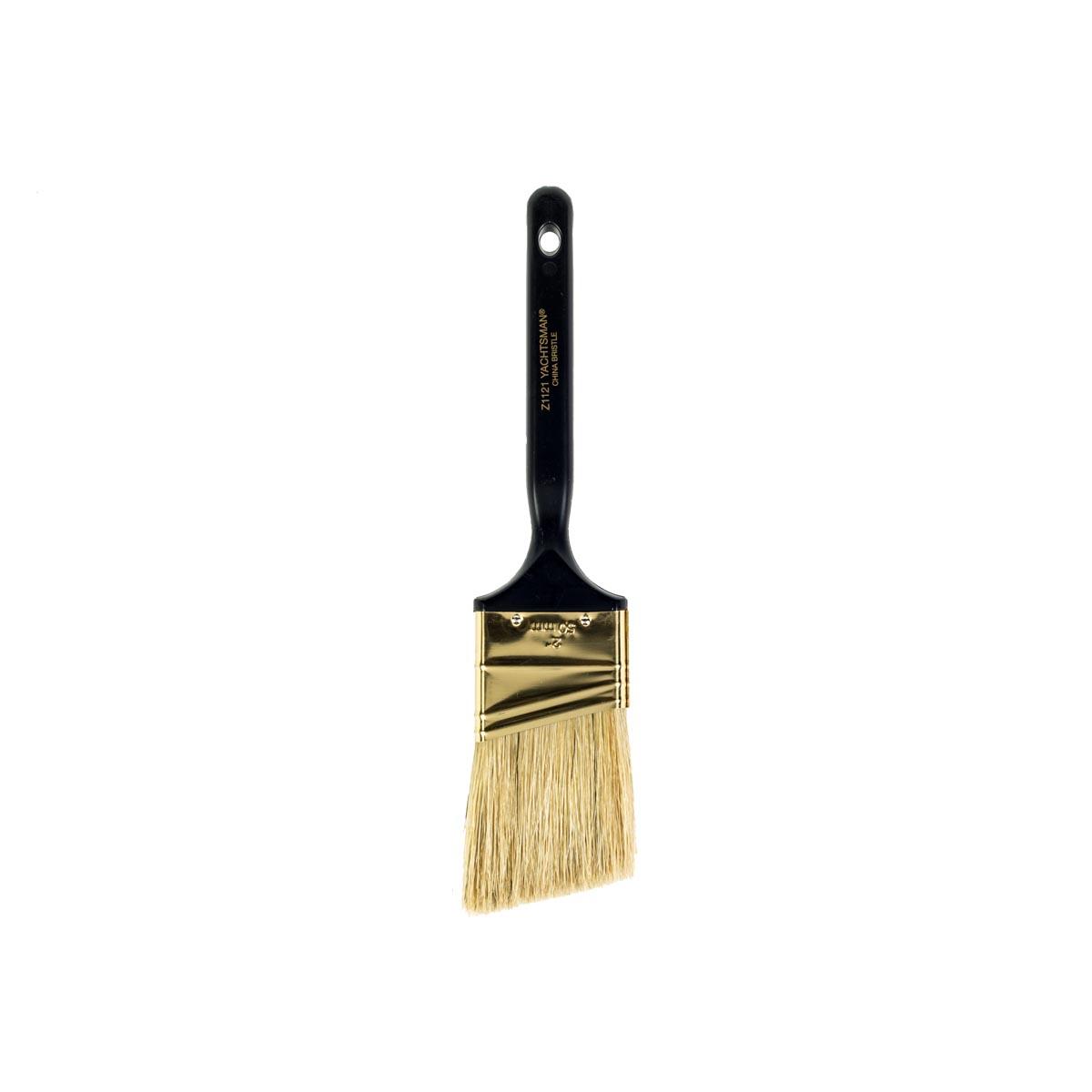"""2"""""""" Yachtsman White China Bristle Angle Sash paintbrush"""