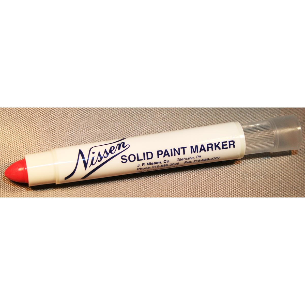 Solid Paint Marker Red